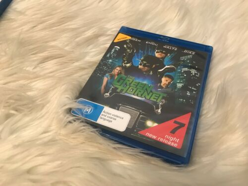 1 of 1 - The Green-Hornet - Blu Ray Free Postage! - Ex Rental