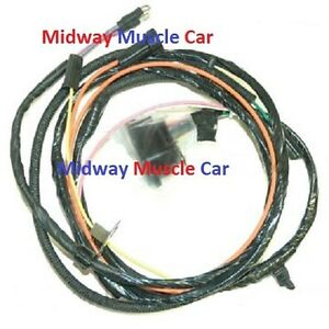 details about engine wiring harness v8 67 chevy impala caprice biscayne bel air 1967 327 Engine
