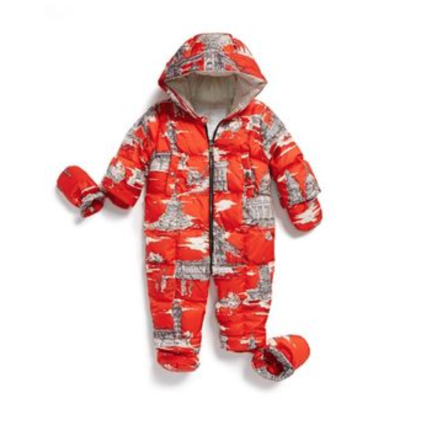 a9cb313c0 Burberry Skylar Quilted Down Snowsuit Size 9 Months 1207 Dark ...