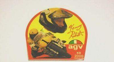 Vecchio Adesivo Da Collezione /old Sticker Kenny Roberts (cm 9) In Vendita