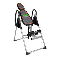 Foldable Premium Gravity Inversion Table Back Therapy Fitness Reflexology on sale