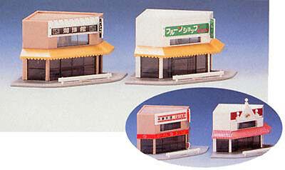Tomix 4015 Corner Shops (N scale)