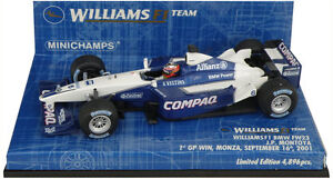 Minichamps Williams Fw23 italienne 2001 - Juan Pablo Montoya 1/43 4012138041028