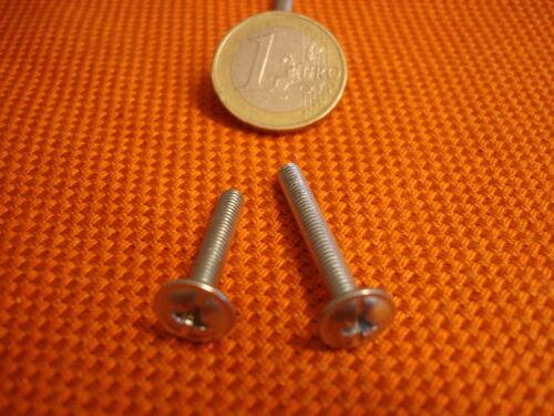190 Stück 4 x 23 oder 140 St.4x30  Griff Befestigungsschrauben Kombi Schlitz M 4
