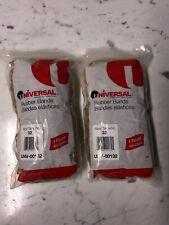 """Universal Rubber Bands Size 32 3/"""" x 1//8/"""" 820 Bands//1lb Pack 2"""
