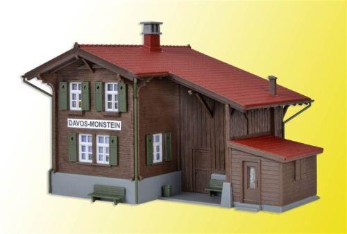 Kibri ho 39493 estación de ferrocarril-davos monstein incl casa de iluminación kit Artículo nuevo