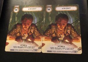 Tinker x2 Promo Star Wars Destiny Card Game
