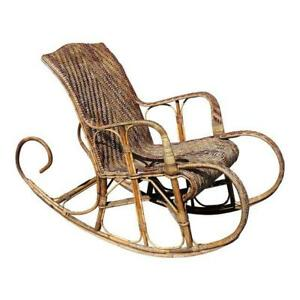 Image Is Loading Very Large French Art Deco Rocking Chair Exotic