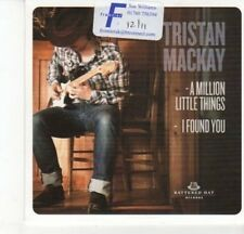 (DJ608) Tristan Mackay, A Million Little Things / I Found You - 2011 DJ CD