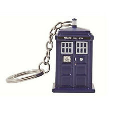 Doctor Who Tardis Light Up Keychain Torch NEW Keyring Toys Dr Who Police Box