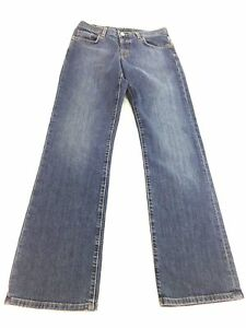 LUCKY-BRAND-DENIM-JEANS-WOMENS-MED-WASH-BOOT-CUT-LOW-RISE-BUTTON-FLY-SIZE-6-28
