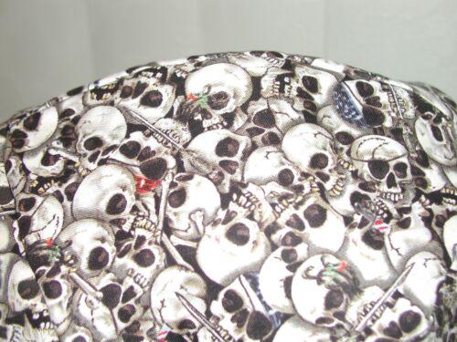 Red/'s American Made Pirate Skull /& Gold teeth Welding Hat Biker Cap $7.50 each