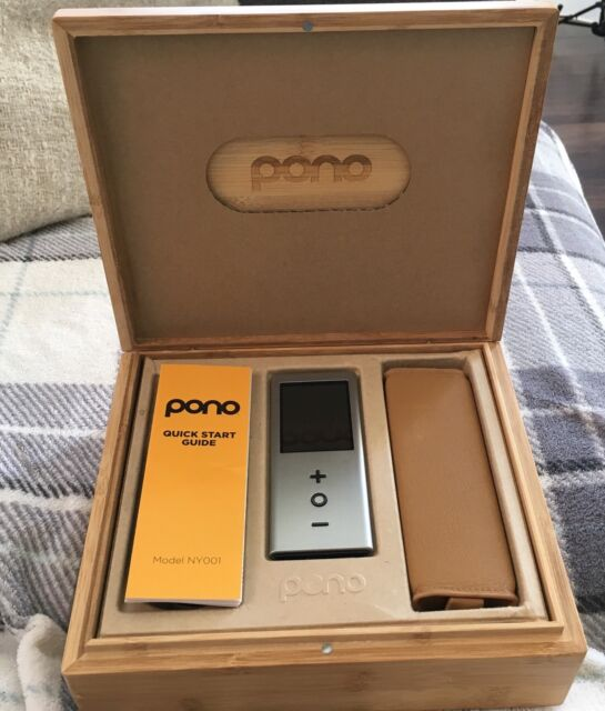 PONO Player - Limited Edition Player In Chrome - Tom Petty
