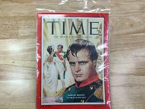 Time Magazine- October 11, 1954- Marlon Brando -Vintage