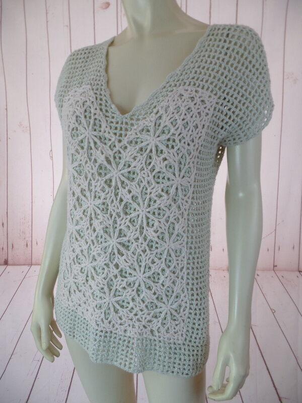 Field Flower Anthropologie Sweater Vest XS Mint G… - image 3