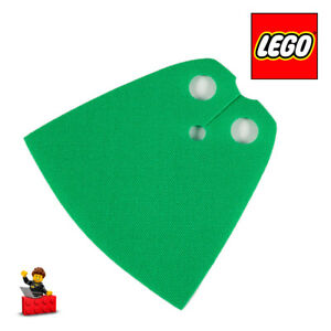 LEGO-PICK-A-BRICK-522c-Cape-Cloth-Cloak-Shiny-Starched-Fabric-Bright-Green