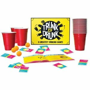 Highly Interactive Collectible Excellent Quality Trunk of Drunk Party Game