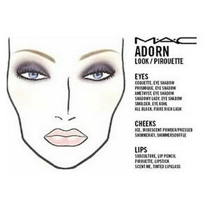 image gallery mac cosmetics face charts