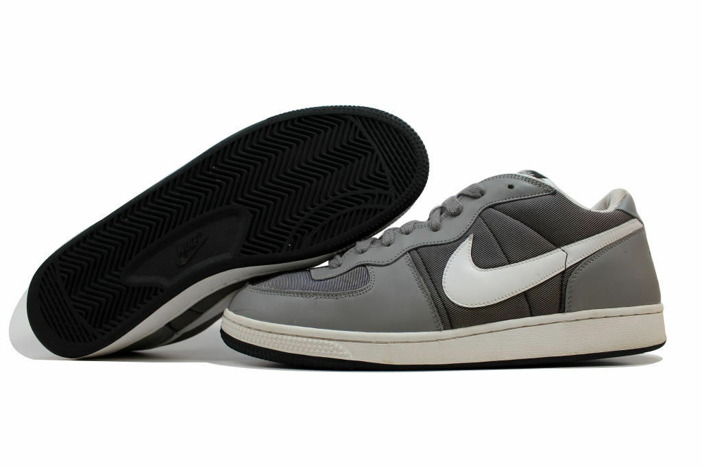 NIKE ZOOM TERMINATOR LOW SNEAKERS MEN SHOES GREY/WHITE 310208-011 SIZE 7 NEW