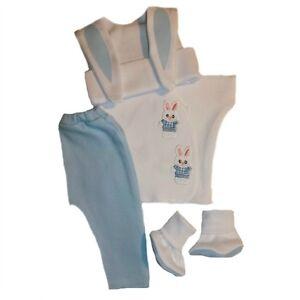 Baby Boy Bunny Clothing Set Premature Babies Preemie