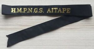 H-M-P-N-G-S-AITAPE-GENUINE-RAN-TALLY-BAND-220-SHIPS-NAMES-AVAILABLE