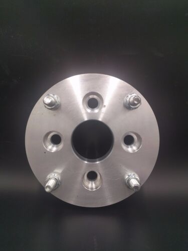 """4x110 to 4x156 ATV US Made Wheel Adapters Billet Spacers 1/"""" Thick 12mm Studs x 2"""