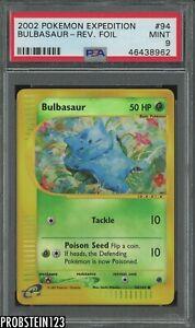2002-Pokemon-Expedition-94-Bulbasaur-Reverse-Foil-PSA-9-MINT