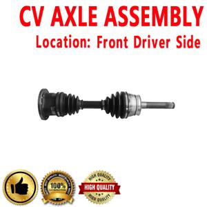Front Driver Side CV Axle Shaft For D21 1994 L4 2.4L 2389cc 4WD