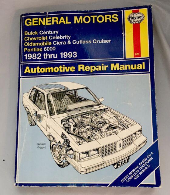 Haynes Repair Manual  829   General Motors 1982