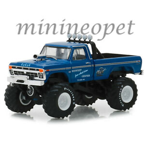 GREENLIGHT-49030-A-BIGFOOT-MONSTER-TRUCK-1974-FORD-F-250-1-64-MIDWEST-BLUE