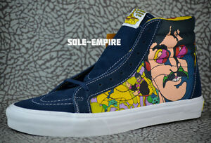 d21f0ee01e VANS Sk8-Hi Reissue The Beatles Faces Dress Yellow Submarine VN ...