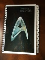 Password Book Internet Website Address Book A-z Tabs Star Trek Personalized Gift