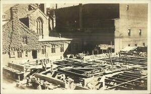 Hartford-CT-Building-Construction-c1910-Real-Photo-Postcard