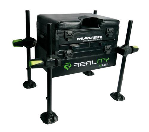 Maver-Reality-Seat-Box-NEW-Coarse-Fishing-Seatbox