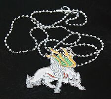 Okami Chibiterasu Limited Edition Necklace Worthy Of Collection Necklace