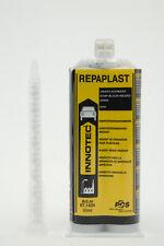 INNOTEC Repaplast (50ml) + 1 Nozzle Black glues metal, wood, plastics + more