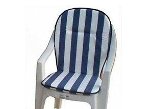 Cuscino per sedie da giardino con schienale alto vari colori ebay
