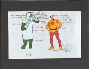 Flash-Gordon-Zarko-Ming-Filmation-Production-Animation-Model-Cel-1979-82