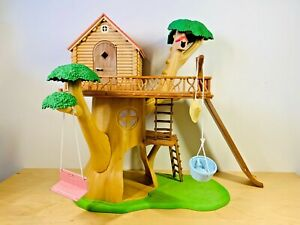 Sylvanian-Families-Treehouse-Set-amp-Accessories-Swing-Slide-Ladders