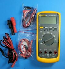 Fluke 87v Trms Multimeter Excellent Screen Protector Accessories