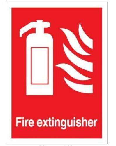 Extintor Adhesivo 14cm X 10cm-Salud y Seguridad Fuego Sign-Premium se