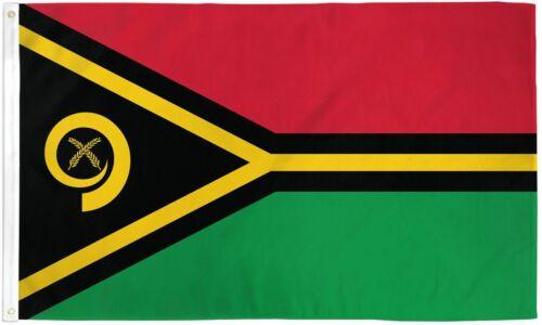 "/""VANUATU/"" 3x5 ft flag polyester"