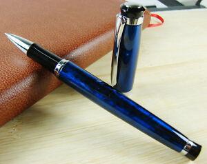 Baoer-508-Rollerball-Pen-Elegant-Writing-Pen-Flash-Blue-Color