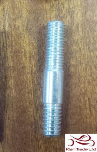 inlet exhaust-m1009 5//16 UNC UNF x 1 13//16 collecteur Goujons 45mm Long Plaqué Zinc