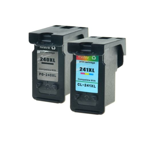 2PK PG-240XL CL-241XL Ink Cartridge for Canon PIXMA MG3220 MG3222 MG4120 MG4220