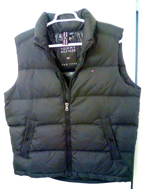 Tommy Hilfiger New York Down Filled Black Full Zip Puffer ...