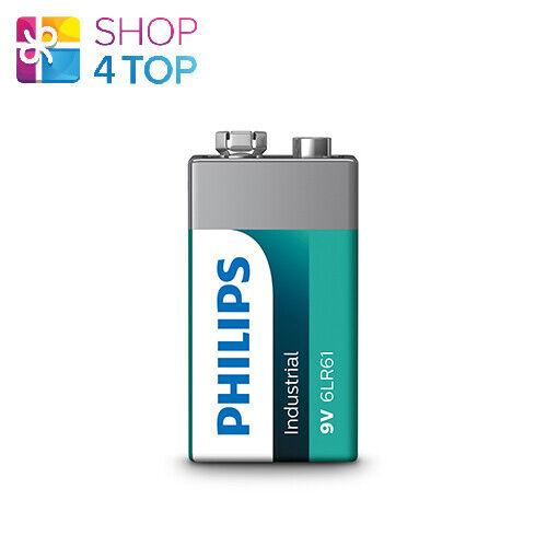 Philips Industrial Alkaline 9v batteries 6lr61 9v battery Exp 2023 june new