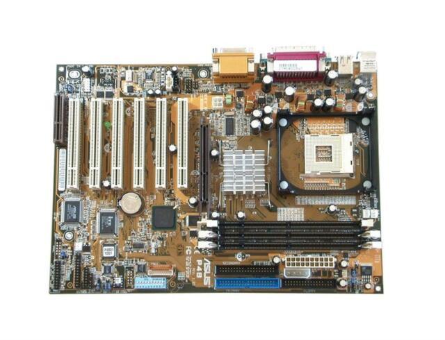 Socket 478: ASUS P4B - motherboard - ATX - Socket 478 - i845 PCIx5 SD RAM 3 Slot