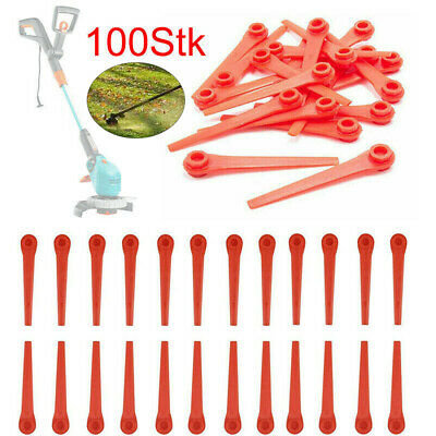 100Pcs Plastic Replacement blades for Gardena grass trimmer and battery trimmer