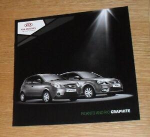Kia Picanto amp Rio Graphite Special Edition Brochure 2010 - Fareham, United Kingdom - Kia Picanto amp Rio Graphite Special Edition Brochure 2010 - Fareham, United Kingdom